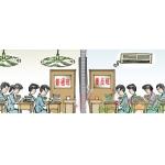 滨河中学重点班装空调普通班吹风扇 学校歧视普通班学生