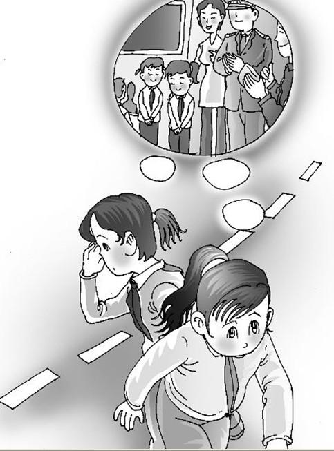 小学生捡钱包受表扬,第二天逃课捡钱包.jpg