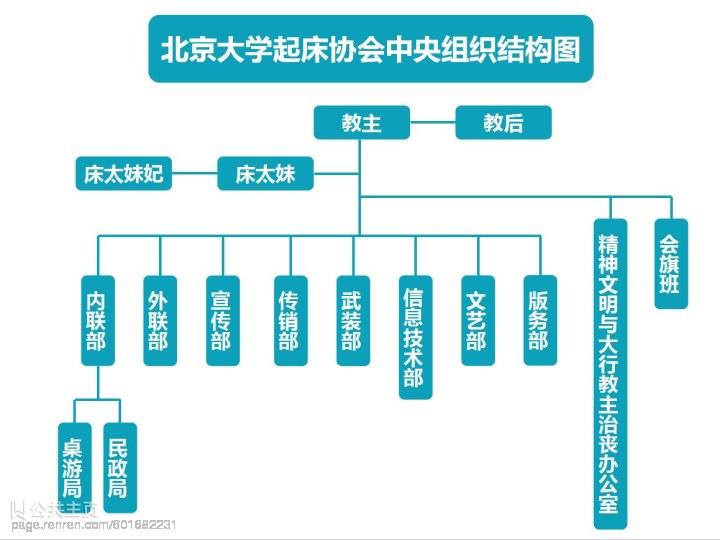 北大床协组织结构图