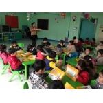 天津佳代双语艺术幼儿园教学和伙食都很好