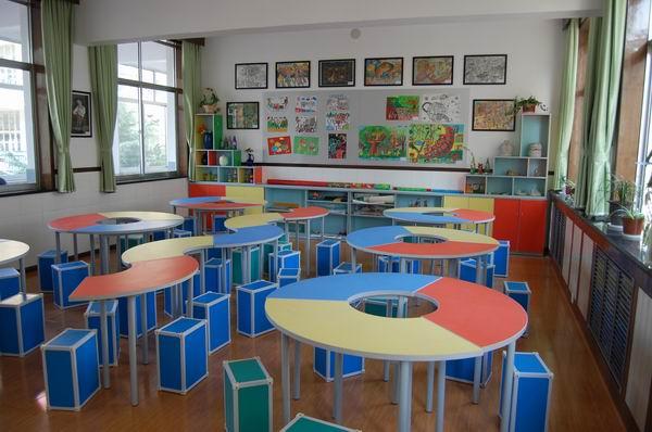 美术教室设计效果图