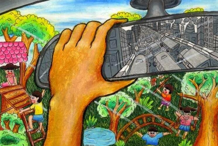 儿童美术创作展简介图片